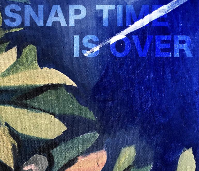 SNAP TIME IS OVER du 19 mai au 12 juin à la Galerie VALENTIN