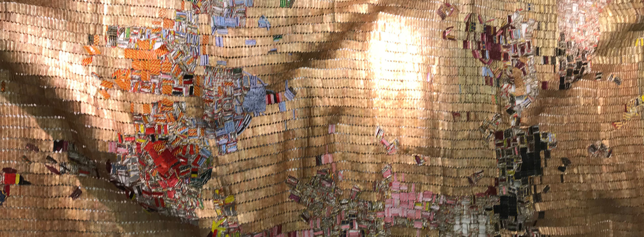 Dissolution des continents, El Anatsui, ZEITZ MOCAA Collection
