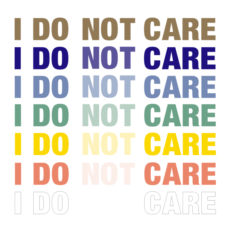 I DO NOT CARE - Exposition collective A2Z Gallery - du 14 au 30 janvier 2021