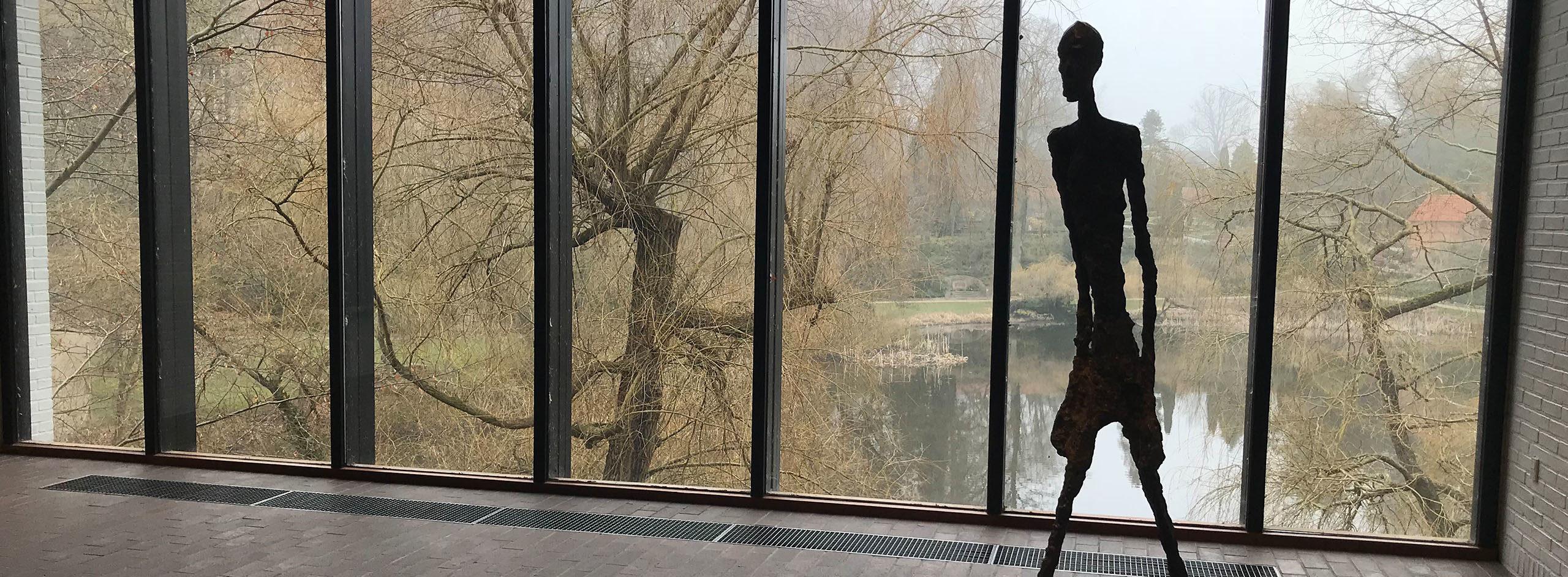 L'homme qui marche, Alberto Giacometti, Louisiana Museum, Humlebaek Danemark
