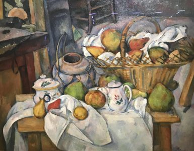 La table de cuisine, Paul Cezanne, Musee d'Orsay