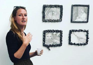 Lise et ses travaux récents sur céramique