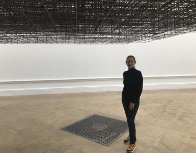 "Marianne Dollo dans l'Oeuvre ""Matrix"" d'Anthony GROMLEY"
