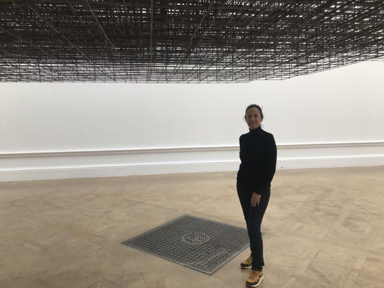 """Marianne Dollo dans l'Oeuvre """"Matrix"""" d' A.GROMLEY"""