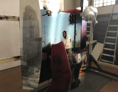 Mohamed Bourouissa, Studio Visit, With Amis du Centre Pompidou