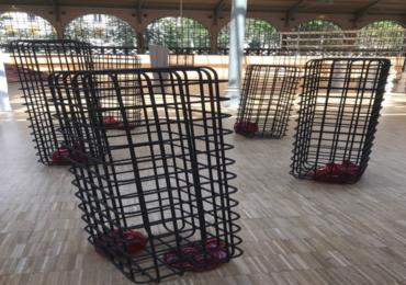 Oeuvre de Mona Hatoum en Résidence au sein de Arnoux Industrie