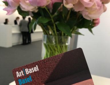 PASS VIP, Art Basel, 2019